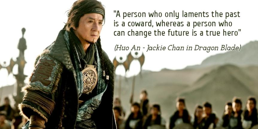 Jackie Chan as Huo An in Dragon Bade movie