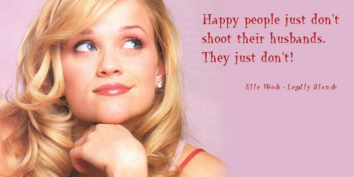 Movie quote about happy people